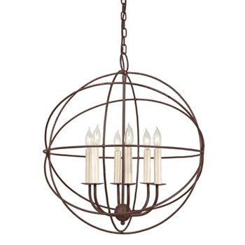 Hanging Orb chandelier