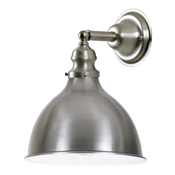Industrial Sconce With Metal Shade